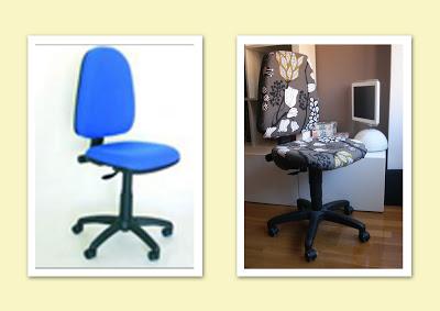 Tapizar silla giratoria traetela - Tejidos para tapizar sillas ...