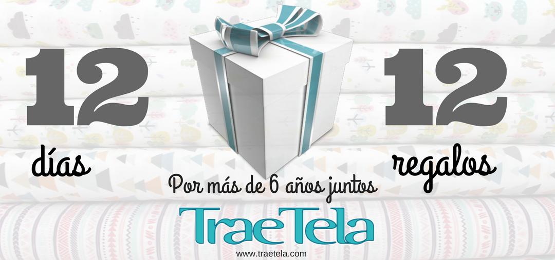 ¡SORTEO!: 12 DÍAS 12 REGALOS EN EL FACEBOOK DE TRAETELA