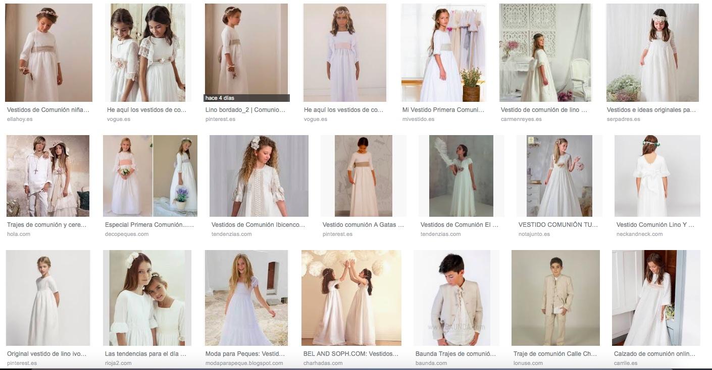 Vestidos de comunion charhadas