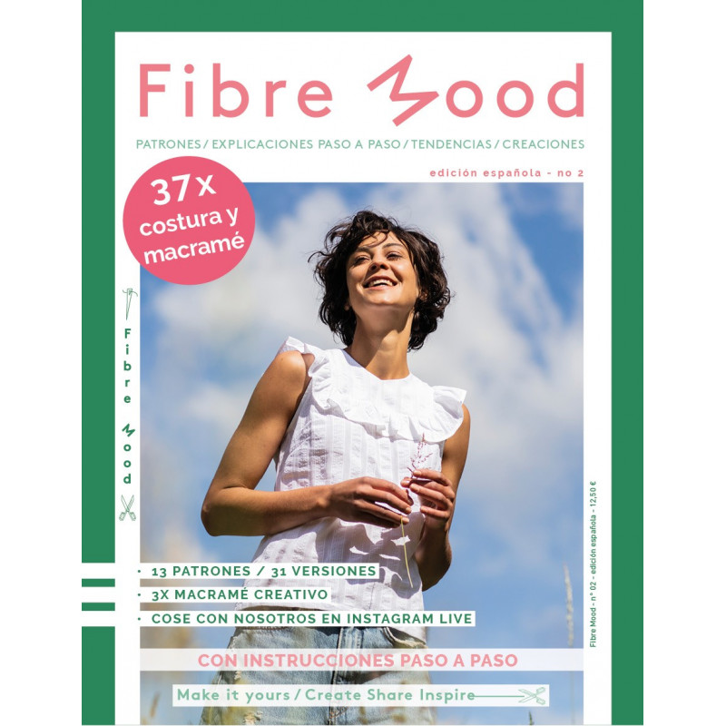 Revista de patrones Fibre Mood en español