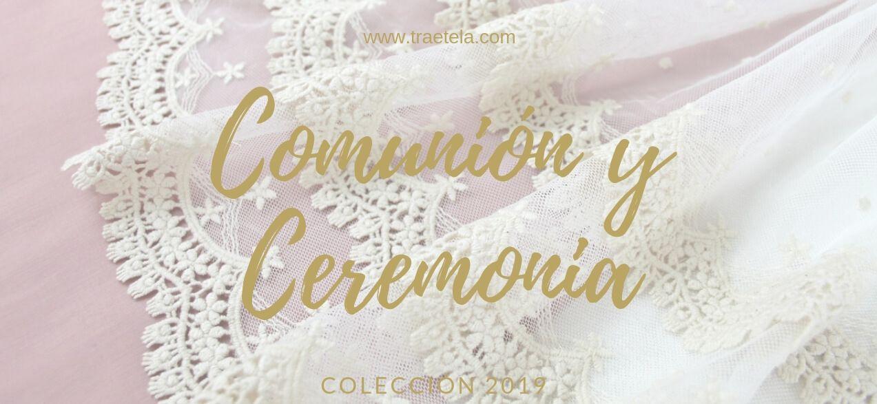 TELAS PARA VESTIDOS DE COMUNIÓN Y CEREMONIA